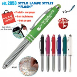 STYLO LAMPE STYLET FLASH REF 2953 2953 Stylos Divers : pointeur laser, stylo lampe... 2,29 €