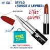 STYLO ROUGE A LEVRES REF 1044 1044 Stylos Divers : pointeur laser, stylo lampe... 0,26 €