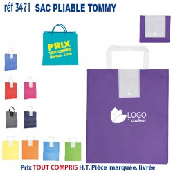 SAC PLIABLE TOMMY REF 3471
