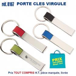 """PORTE CLES \\""""VIRGULE\\"""" REF 8167 8167 PORTE CLES EN METAL 1,44 €"""