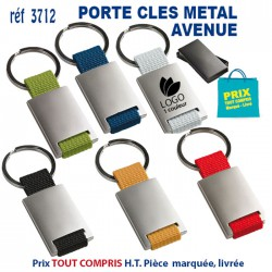 "PORTE CLES METAL \\""AVENUE\\"" REF 3712 3712 PORTE CLES EN METAL 1,10 €"