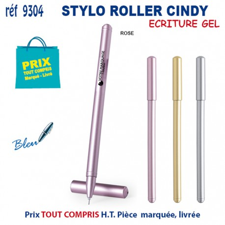 STYLO ROLLER CINDY REF 9304 9304 Stylos plastiques 0,44 €
