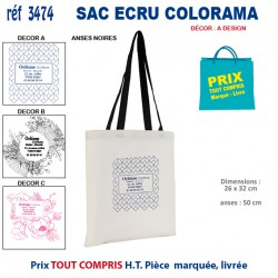 PETIT SAC ECRU COLORAMA REF 3474