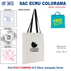 SAC ECRU COLORAMA REF 3475