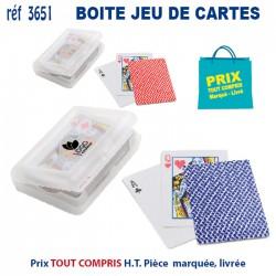 BOITE JEU DE CARTES REF 3651 3651 JEUX - ENFANTS 0,83 €