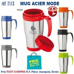 MUG ACIER MODE REF 7113 7113 MUGS 3,29 €