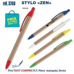 STYLO ZEN REF 3768 3768 Stylos Bois, carton, recyclé 0,23 €