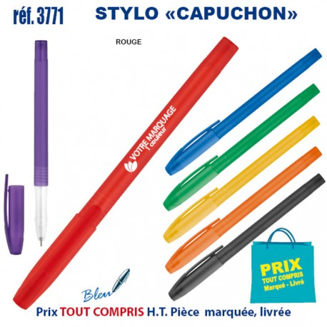 STYLO CAPUCHON REF 3771 3771 Stylos plastiques 0,14 €