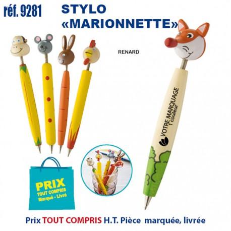 STYLO MARIONNETTE REF 9281 9281 JEUX - ENFANTS 0,64 €