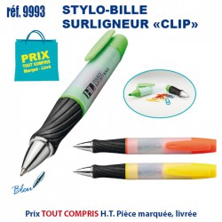 STYLO ILLE SURLIGNEUR CLIP REF 9993 9993 Surligneur 0,65 €