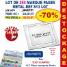 LOT DE 250 MARQUE PAGES CHIC REF 813 LOT 813 LOT BONS PLANS 347,50 €