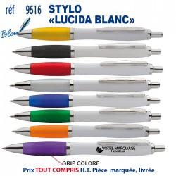 STYLO LUCIDA BLANC REF 9516 9516 Stylos plastiques 0,26 €