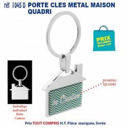PORTE CLES METAL MAISON REF 1045 D 1045 D PORTE CLES EN METAL 1,10 €