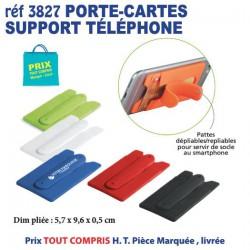 PORTE CARTES SUPPORT TELEPHONE REF 3827 3827 ETUIS PORTE CARTES DE CREDIT 0,69 €