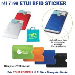 ETUI RFID STICKER REF 7198 7198 ETUIS PORTE CARTES DE CREDIT 0,41 €