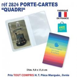 PORTE CARTES QUADRI REF 2824 2824 ETUIS PORTE CARTES DE CREDIT 0,65 €