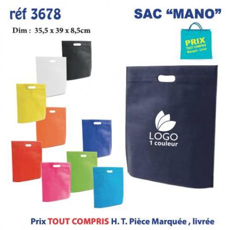 SAC MANO REF 3678 3678 SACS SHOPPING - TOTEBAG 0,59 €