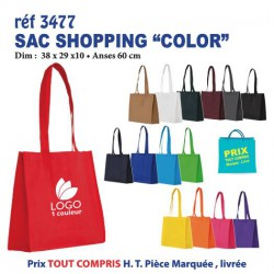 SAC SHOPPING COLOR REF 3477 3477 SACS SHOPPING - TOTEBAG 0,82 €
