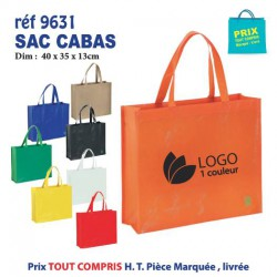 SAC CABAS REF 9631 9631 SACS SHOPPING - TOTEBAG 1,53 €