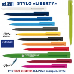 STYLO LIBERTY REF 3511 3511 Stylos plastiques 0,30 €