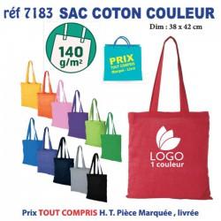 SAC COTON COULEUR 140 GRS REF 7183