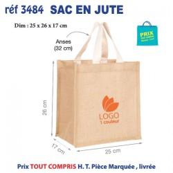 SACS EN JUTE REF 3484 3484 SACS SHOPPING - TOTEBAG 2,29 €