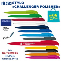 STYLO CHALLENGER POLISHED REF 3513 3513 Stylos plastiques 0,40 €