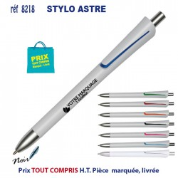 STYLO ASTRE BLANC REF 8218 8218 Stylos plastiques 0,22 €