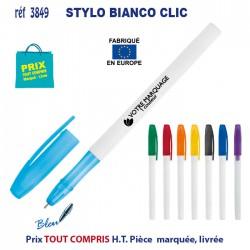 STYLO BIANCO CLIC REF 3849 3849 Stylos plastiques 0,14 €