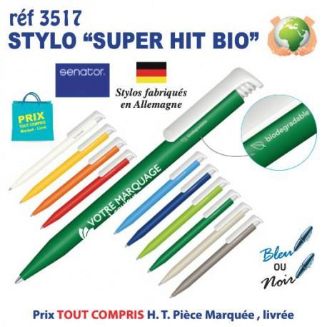 STYLO SUPER HIT BIO REF 3517 3517 Stylos Bois, carton, recyclé  0,31 €