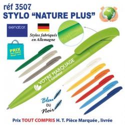 STYLO NATURE PLUS REF 3507 3507 Stylos Bois, carton, recyclé 0,48 €