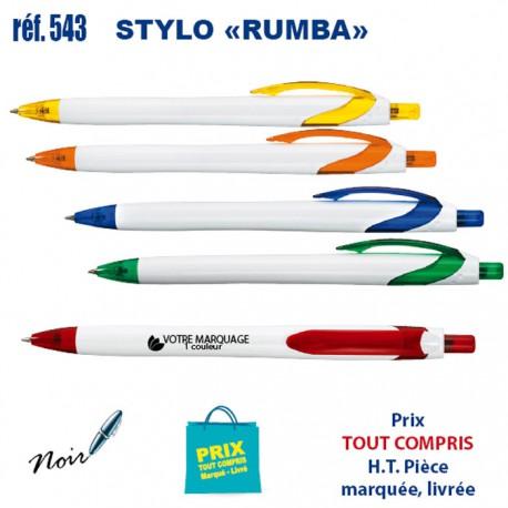 STYLO RUMBA REF 543 543 Stylos plastiques 0,24 €