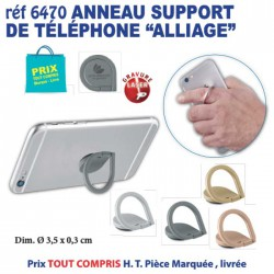 ANNEAU SUPPORT DE TELEPHONE ALLIAGE REF 6470 6470 Support téléphone 1,68 €