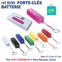 PORTE CLES BATTERIE REF 9590 9590 BATTERIE DE SECOURS - CHARGEUR 2,76 €