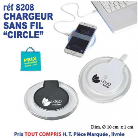 CHARGEUR SANS FIL CIRCLE REF 8208 8208 BATTERIE DE SECOURS - CHARGEUR 3,09 €