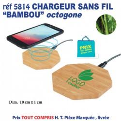 CHARGEUR SANS FIL BAMBOU OCTOGONE REF 5814 5814 BATTERIE DE SECOURS - CHARGEUR 5,96 €