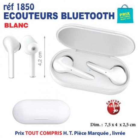 ECOUTEURS BLUETOOTH REF 1850 1850 ACCESSOIRES SMARTPHONE TABLETTE 18,99 €