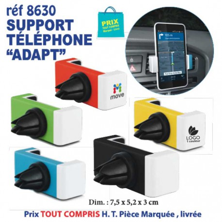 SUPPORT TELEPHONE ADAPT REF 8630 8630 Support téléphone 2,08 €
