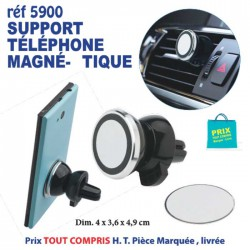 SUPPORT TELEPHONE MAGNETIQUE REF 5900 5900 Support téléphone 2,91 €