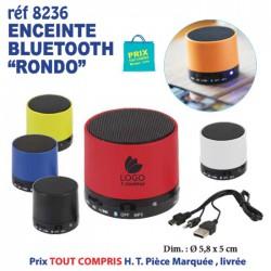 ENCEINTE BLUETOOTH RONDO REF 8236 8236 OBJETS CONNECTES 4,95 €