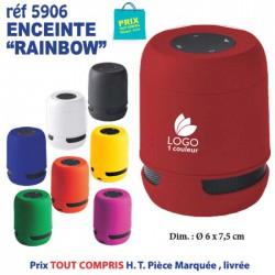 ENCEINTE BLUETOOTH RAINBOW REF 5906
