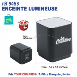 ENCEINTE BLUETOOTH LUMINEUSE REF 9453 9453 OBJETS CONNECTES 7,73 €