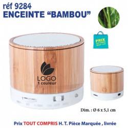 ENCEINTE BLUETOOTH BAMBOU REF 9284 9284 OBJETS CONNECTES 7,04 €