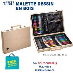 MALLETTE DESSIN EN BOIS REF 7517 7517 JEUX - ENFANTS 7,44 €