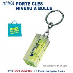 PORTE CLES NIVEAU A BULLES REF 7400 7400 PORTE CLES PLASTIQUE 0,61 €