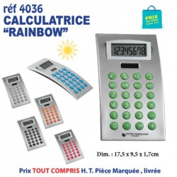 CALCULATRICE RAINBOW REF 4036 4036 Calculatrices publicitaires 1,94 €