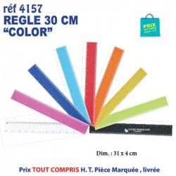 REGLE 30 CM COLOR REF 4157 4157 Règles publicitaires 0,59 €