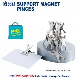 SUPPORT MAGNET PINCES REF 6343 6343 OBJETS PRATIQUES 3,18 €