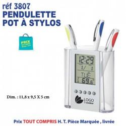 PENDULETTE POT A STYLOS REF 3807 3807 Pendulette 3,94 €