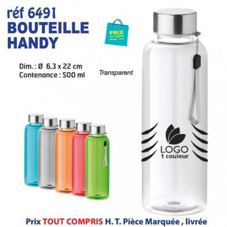 BOUTEILLE HANDY REF 6491 6491 GOURDES GOBELETS : OBJETS PUBLICITAIRES  3,14€